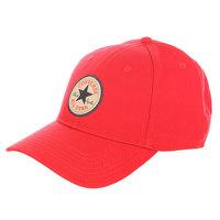 Бейсболка классическая Converse Con001 Red