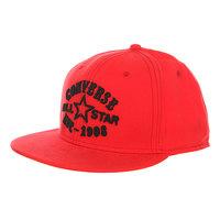 Бейсболка с прямым козырьком Converse Con004 Red