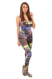 Комбинезон для фитнеса женский CajuBrasil Su Legging Black/City 1