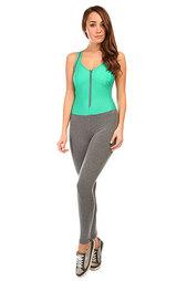 Комбинезон для фитнеса женский CajuBrasil Supplex Overall Grey/Green