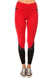 Леггинсы женские CajuBrasil Supplex Legging Black/Red