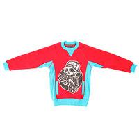 Толстовка свитшот детская Shweyka Crewneck Red/Blue