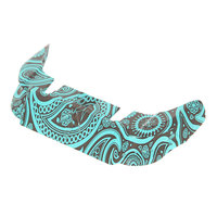 Тормоз для самоката Blunt Otr Bandana Front Plate Med Black/Light Blue