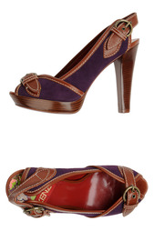 Босоножки на каблуках Kenzo
