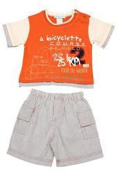 Комплект: футболка, шорты Ohm&Emmy Ohm&;Emmy