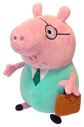 "Мягкая игрушка ""ПАПА СВИН"" Peppa Pig"