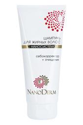 Шампунь для жирных волос NANODERM