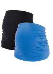 Мода для беременных: пояс для живота (черный/белый) Bonprix