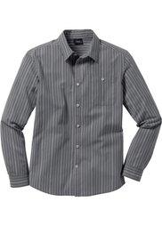Рубашка Regular Fit (красный в полоску) Bonprix