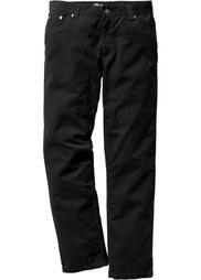 Вельветовые брюки Regular Fit Straight, низкий + высокий рост (U + S) (темно-синий) Bonprix
