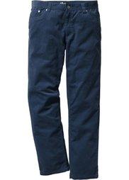 Вельветовые брюки Regular Fit Straight, низкий + высокий рост (U + S) (черный) Bonprix