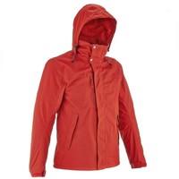 Куртка Arpenaz 300 Rain 3 В 1 Мужская Красная Quechua