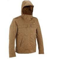 Куртка Arpenaz 600 Rain Warm Мужская Коричневая Quechua