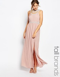 Платье макси TFNC Tall - Mauve