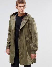 Куртка-пилот цвета хаки Pretty Green - Хаки