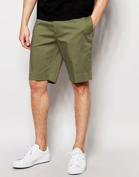 ASOS Skinny Mid Length Shorts In Light Khaki - Хаки светлый