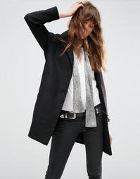 Пальто-кокон ASOS Ultimate - Черный