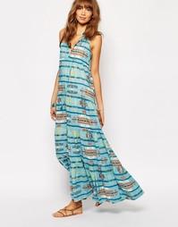 Платье Christophe Sauvat Tijuana Lai Lai - Синий