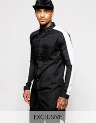Длинная рубашка Underated - Черный