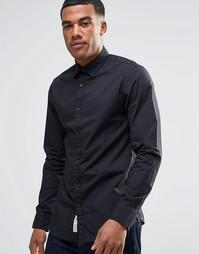 Рубашка узкого кроя Produkt - Черный
