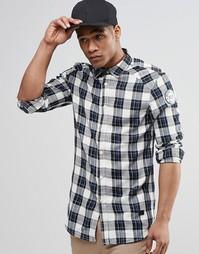 Рубашка в клетку с длинным рукавом G-Star - Черный