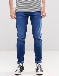 Зауженные джинсы синего цвета ASOS - Синий