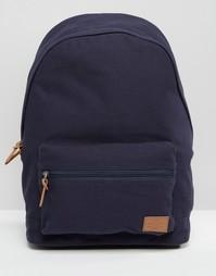 Холщовый рюкзак ASOS - Темно-синий