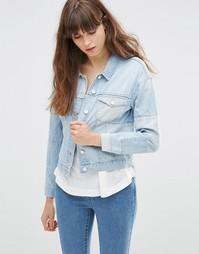 Джинсовая куртка Vero Moda - Светло-голубой деним