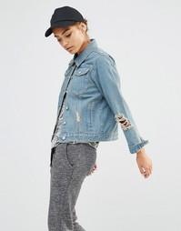 Джинсовая куртка Daisy Street - Синий деним
