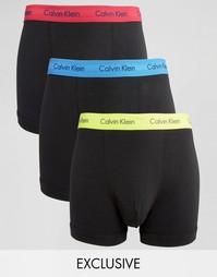 Боксеры‑брифы Calvin Klein 3 в упаковке эксклюзивно для Asos - Черный
