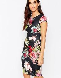 Платье-футляр с цветочным узором Jessica Wright Eden - Принт