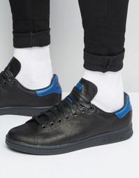 Черные кроссовки adidas Originals Stan Smith S80023 - Черный