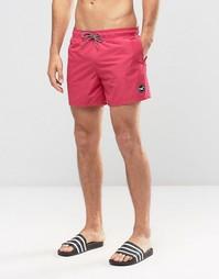 Розовые шорты для плавания Hollister - Розовый