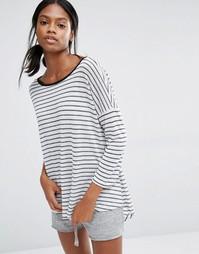 Oversize-футболка в бретонскую полоску Nocozo - Мульти