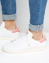 Белые кроссовки adidas Originals Stan Smith S80024 - Белый