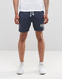 Трикотажные шорты Jack & Jones - Темно-синий