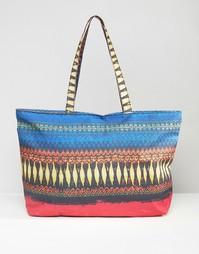 Дорожная сумка с принтом 7X - Многоцветный принт