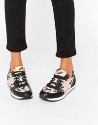 Кроссовки с принтом ALDO - Мульти