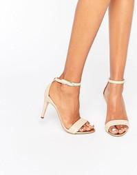 Сандалии на каблуке с ремешками ALDO - Bone