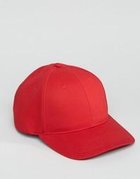 Красная бейсболка ASOS - Красный
