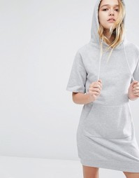 Трикотажное платье с капюшоном и карманом-кенгуру Daisy Street