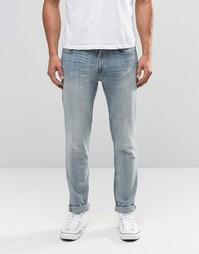 Светлые зауженные джинсы Hollister - Светло-голубой