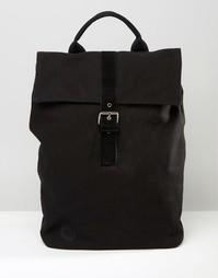 Черный холщовый рюкзак Mi-Pac - Черный