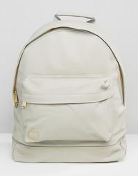Серый рюкзак из искусственной кожи Mi-Pac Tumbled - Серый