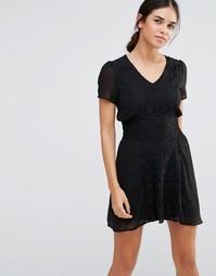 Кружевное платье Pussycat London - Черный