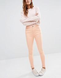 Облегающие джинсы с завышенной талией Liquor & Poker - Blush