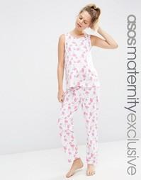 Пижамный комплект для беременных ASOS Maternity - Мульти
