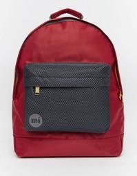 Рюкзак из ткани под атлас с сеточкой Mi-Pac - Красный