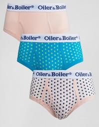 3 трусов в горошек Oiler & Boiler - Мульти