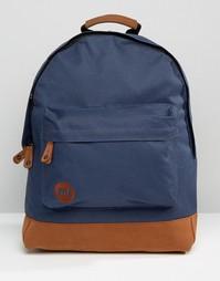 Темно-синий классический рюкзак с контрастной отделкой Mi‑Pac